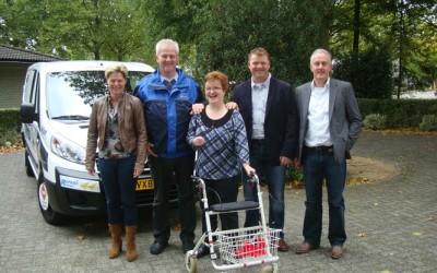 Ropema sponsert gehandicaptenvervoersorganisatie Dichterbij