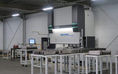Nieuwe LVD Easyform Kantbank 170/3 in gebruik genomen